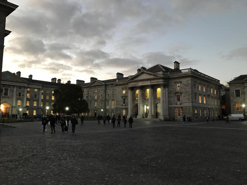 Parliament Square Dublin