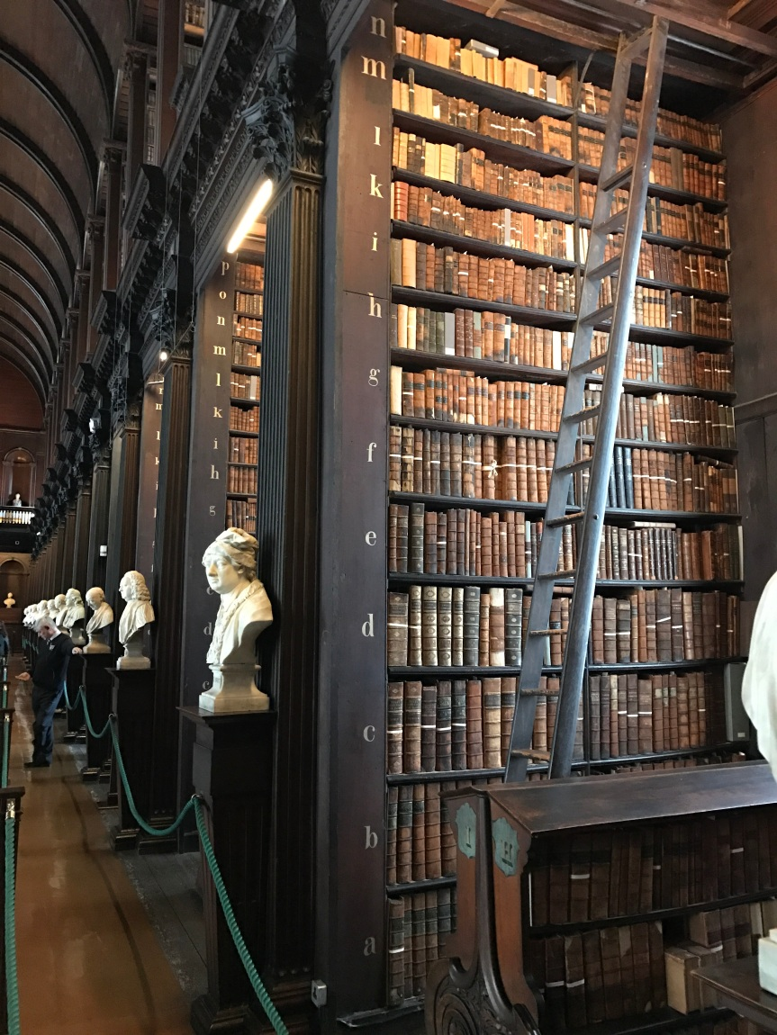 Book of Kells Library - Dublin