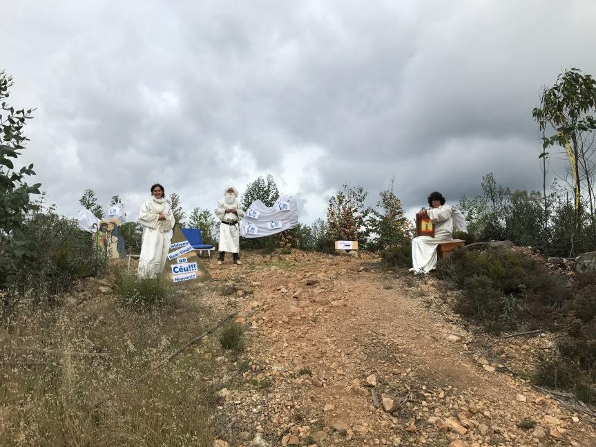 O Céu pronto para receber os atletas ou convidá-los a descer ao Inferno - 4º Trail do Zêzere