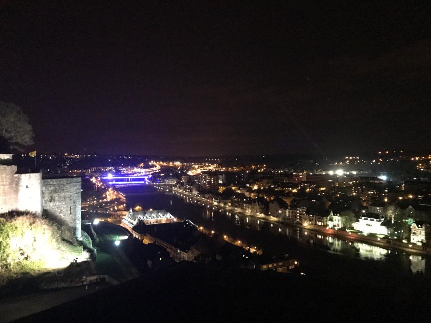 Namur (vista da Citadela), Bélgica