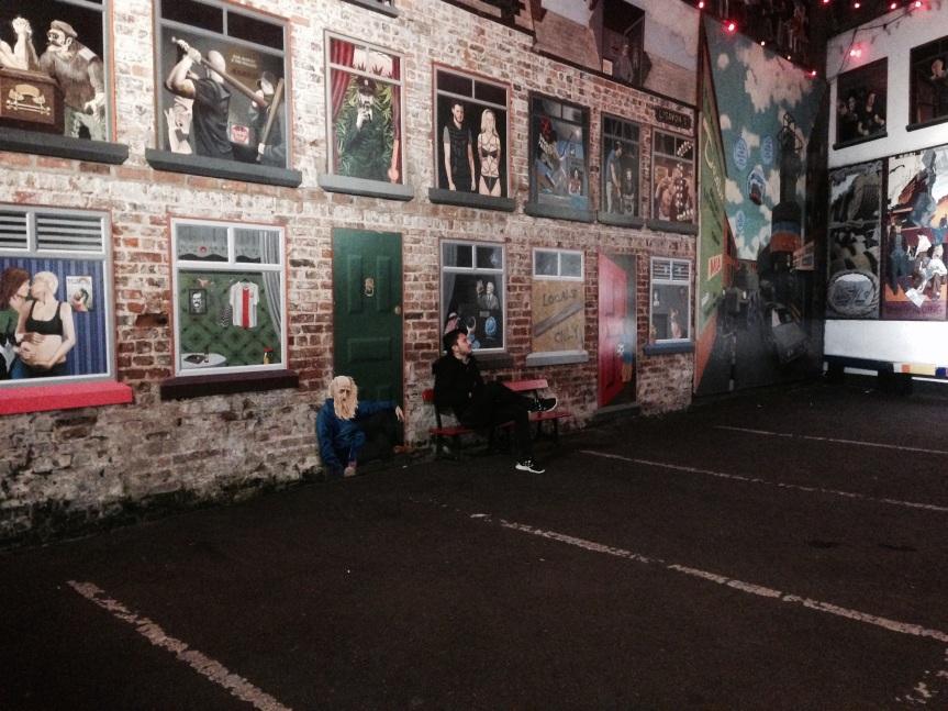 Becos escondidos em Belfast