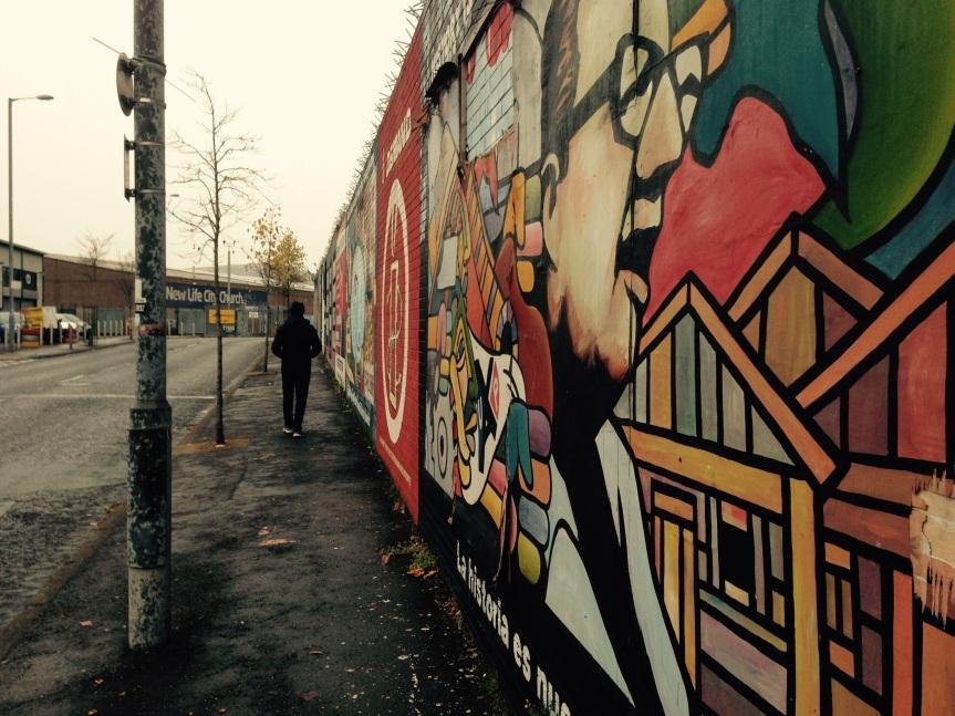 Equality Wall - Muro da Igualdade - Belfast