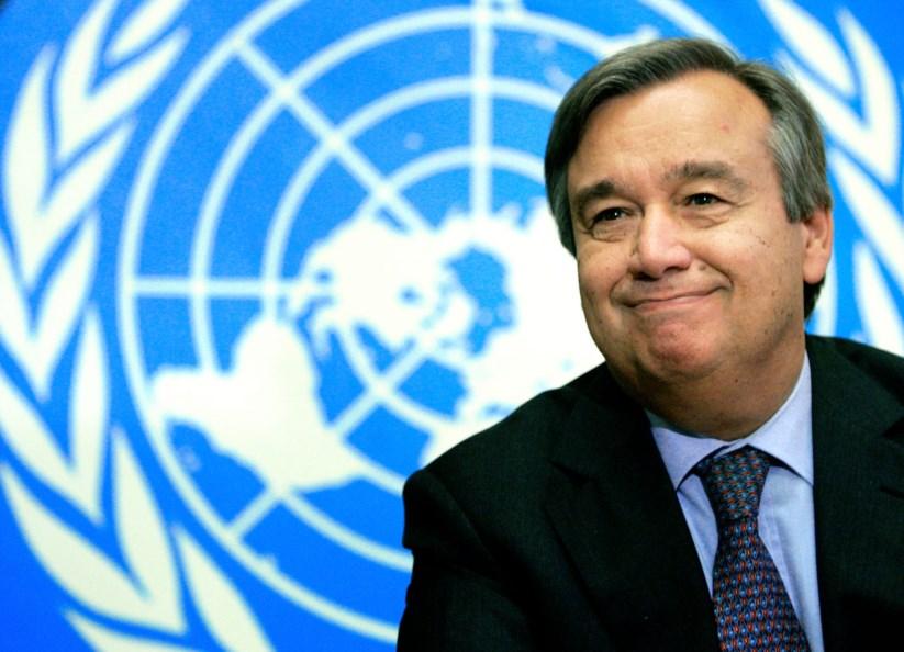António Guterres torna-se o novo Secretário Geral da ONU