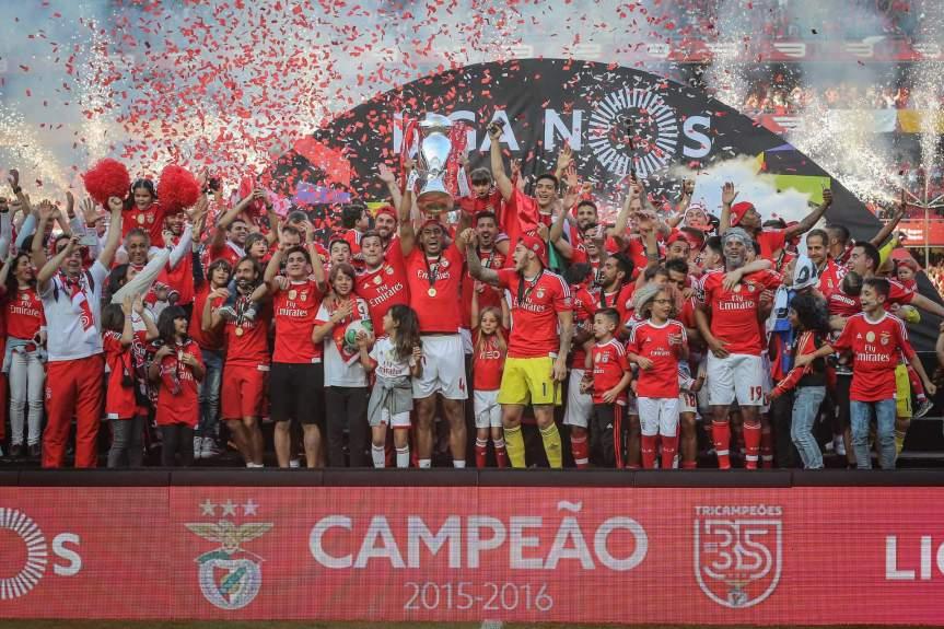 S.L. Benfica Tricampeão Nacional
