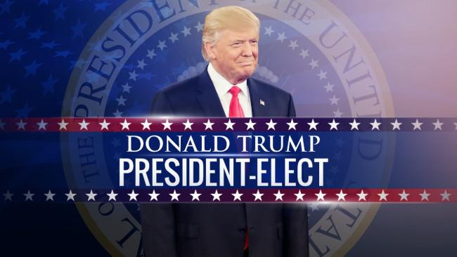 Donald Trump vence as eleições no EUA