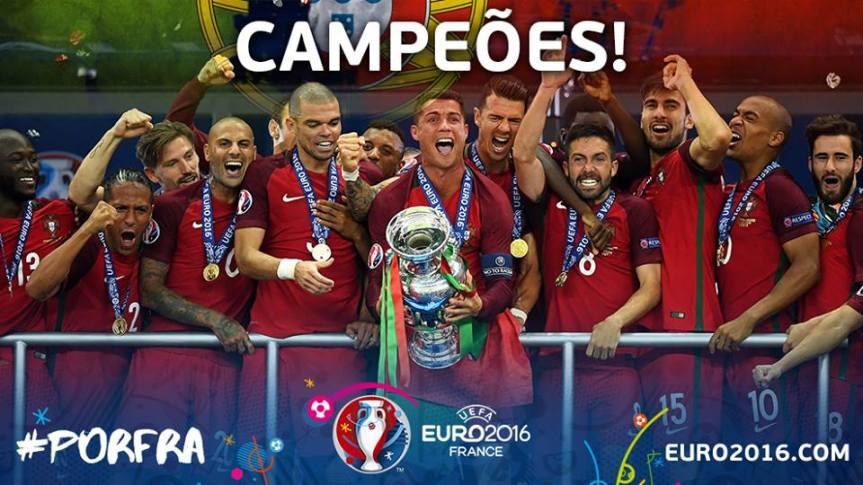 Portugal é Campeão da Europa 2016