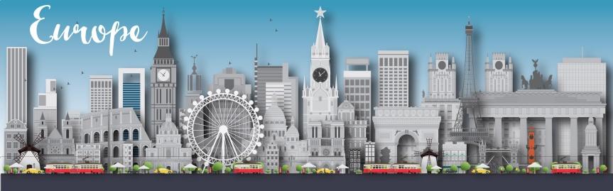 Cinco cidades europeias que fazem o meu top5