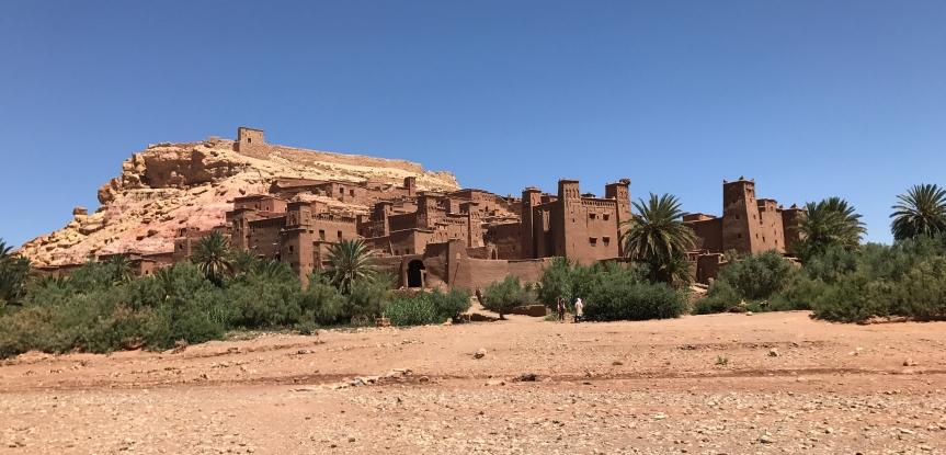 Aït-Ben-Haddou, Ouarzazate, Marrocos