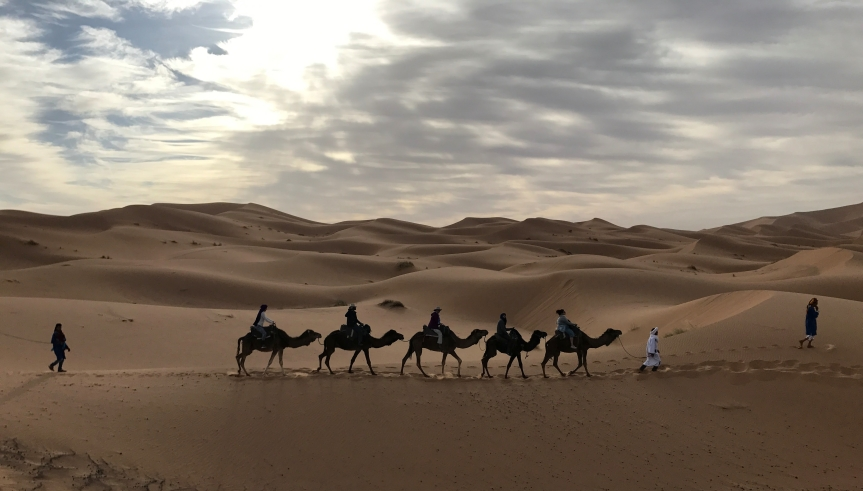 Das cores de Marrakech ao silêncio doSahara