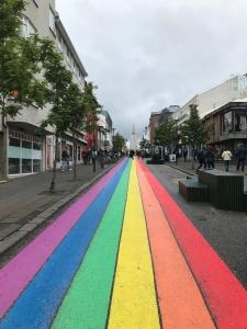 Uma das ruas do centro